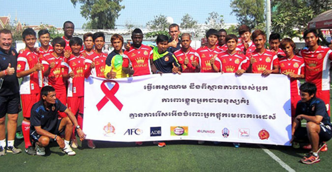 Asian football community unites to Protect the Goal