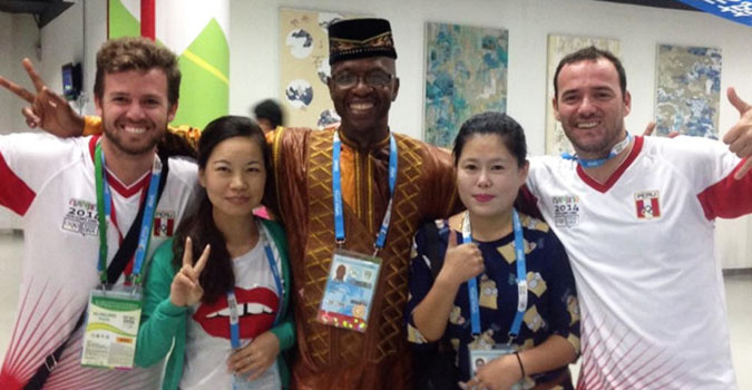UNAIDS at the 2014 Youth Olympic Games