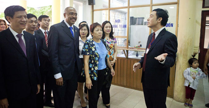 Viet Nam gets more value for money through integration of HIV services