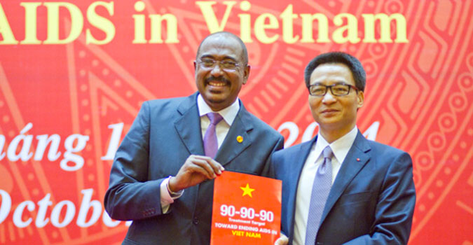 Viet Nam is the first country in Asia to commit to new HIV treatment targets