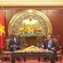 UNAIDS' official visit to Viet Nam
