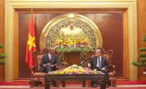 UNAIDS' official visit to Viet Nam