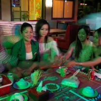 The many faces of a Cambodian entertainment worker