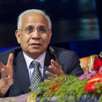 """UN Special Envoy on AIDS for Asia and the Pacific, Prasada Rao, spoke at a number of key sessions at the Congress. He underlined the importance of ensuring gains made in the HIV response over the last decades are built upon. """"HIV needs to stay on the post-2015 development agenda. We have made incredible strides but we must do more. 'Getting to Zero' is more than a slogan and we must make it a reality"""" he said. Credit: UNAIDS/V.Dithajohn"""