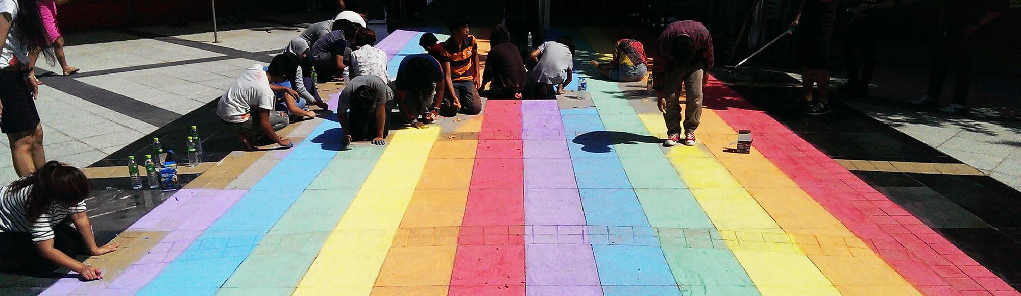 School Rainbow