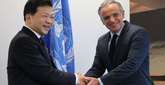 Xinhua News re-affirms commitment to the AIDS response