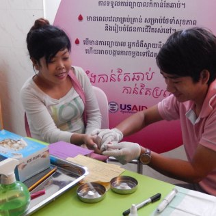Cambodia commits to stopping new HIV infections by 2020